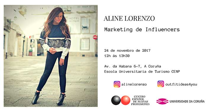 marketing Infuencer Aline Lorenzo